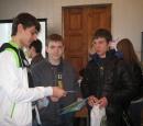 Студенты Кропоткинского Юридического техникума в Темрюке