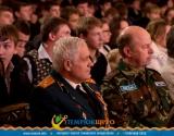 На открытии военно-патриотического месячника в Темрюке