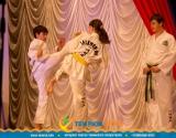 Спортсмены федерации боевых искусств