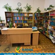 Читальный зал в библиотеке Темрюка