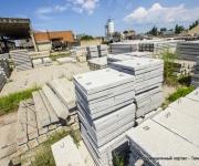 готовая продукция завода ЖБИ в Темрюке