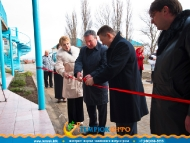 Открытие плавательного бассейна в Кучугурах