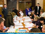 Подсчет голосов на УИК № 4903