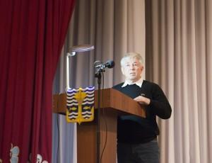 Представитель общественности В.С. Новопашин