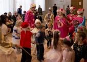 Новогодние утренники для детей проходят в Темрюкском РДК