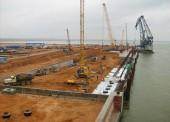 Строительство нефтеперевалочного комплекса в морском порту Тамань