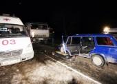 ДТП в Темрюкском районе. Четверка столкнулась с Камазом - 3 человека в реанимации