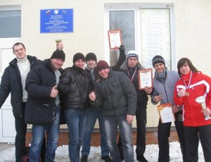Команда Темрюкского района по армспорту