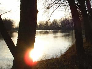 Берег реки Кубань