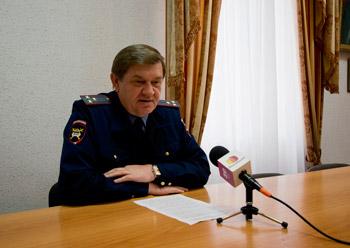 Начальник ДПС Анапы А. Смирнов провел пресс-конференцию