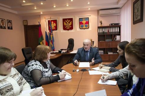 Пресс-конференция главы района Ивана Василевского