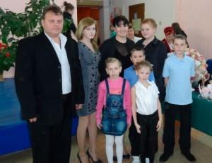 Семья Севастьяновых из Темрюкского района