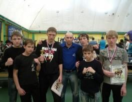 Боксеры из Темрюкского района