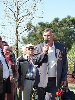 Встреча чернобыльцев в Темрюке