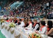 Юные гимнастки из Темрюка заняли 4 место в отборочном чемпионате Алины Кабаевой