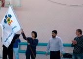Флаг Всекубанской акции «Кубань – навстречу Играм в Сочи!» прибыл в Темрюк