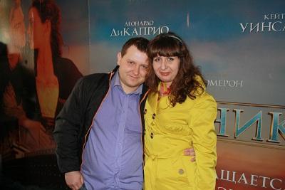 Оля и Саша в кинотеатре Тамань