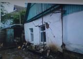 85-летней старушке, у которой после недавнего затопления в Темрюке рухнул дом, негде жить