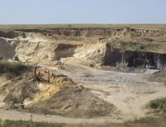 Добыча песка в поселке За Родину