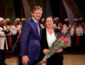 Александр Ткачев и Людмила Максименко