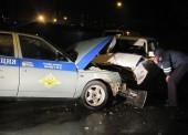 В Темрюке пьяный водитель врезался в патрульный автомобиль, пострадал инспектор ДПС