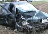 (Видео) ДТП с участием 3 автомобилей произошло в Темрюкском районе