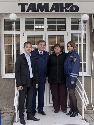 Встреча сотрудников ДПС г. Анапа с представителями Темрюкских СМИ