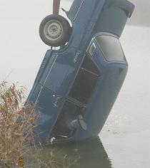 В Темрюке водитель ВАЗ 2107 утонул в канале