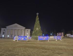 Главная новогодняя елка Темрюка