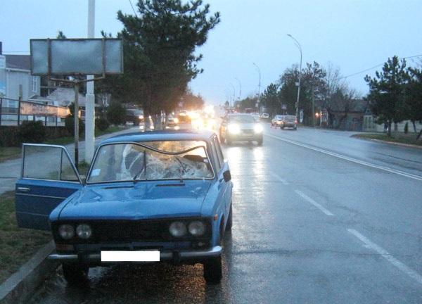 В Темрюке водитель ВАЗ2103 сбил пешехода