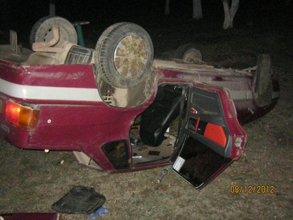 Лишенный водительских прав Темрючанин разбил свой авто