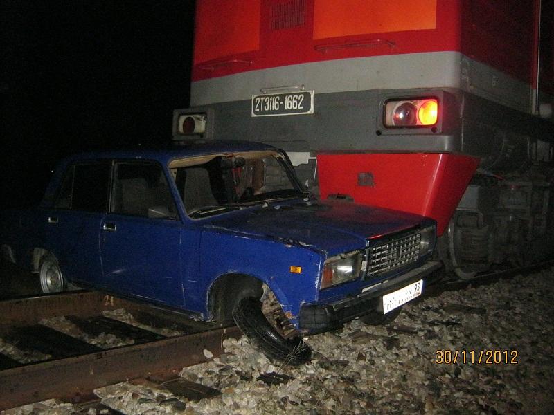 ДТП с поездом в Темрюкском районе