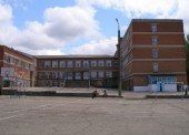 Вечерняя школа в здании СОШ №2 (вход со стороны спорт площадки)