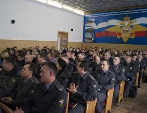Подведение итогов работы темрюкской полиции за 2012 год