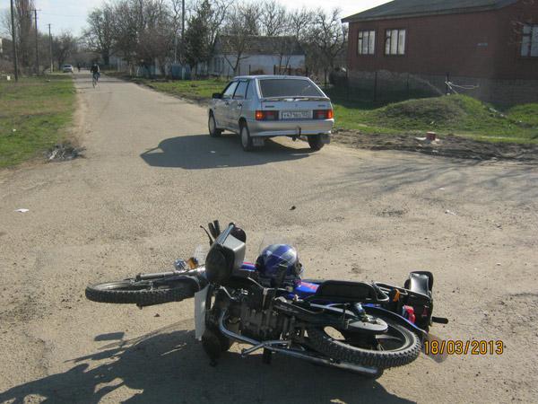 ДТП в Темрюкском районе. Март 2013