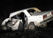 В результате ночного ДТП в Темрюкском районе погибло два человека (видео)