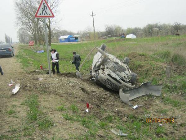 ДТП в Темрюкском районе. Апрель 2013
