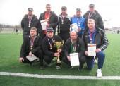 Поздравление футбольной команде «Буревестник»