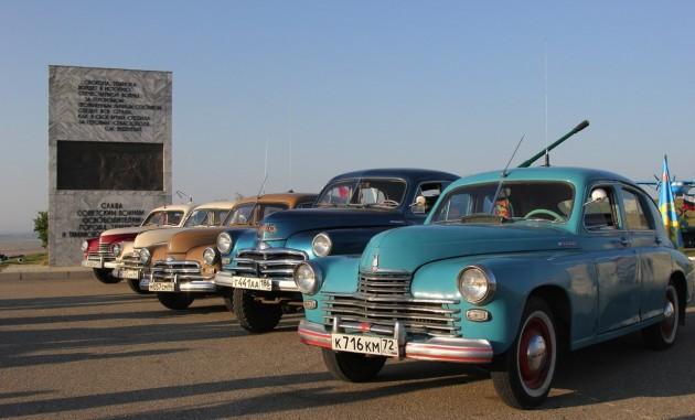 Встреча с участниками автопробега. Фото ОДМ Темрюкского района