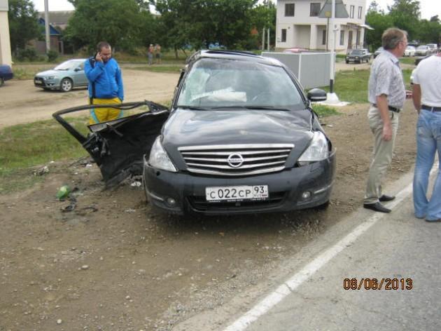 Июнь 2013 ДТП в Темрюкском районе