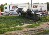 За минувшую неделю в ДТП на дорогах Темрюкского района погибли 3 человека 10 получили ранения
