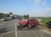За минувшую неделю в Темрюкском районе в ДТП погибло два человека