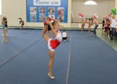В Голубицкой прошел турнир по художественной гимнастике