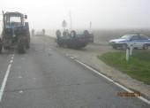За минувшую неделю в ДТП на дорогах Темрюкского района пострадали шесть человек