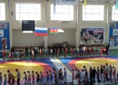 В Темрюкском районе прошло первенство края по вольной борьбе, участие приняли более 200 спортсменов