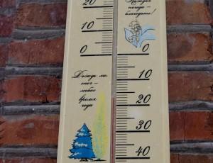 Зима, минус, погода, термометр