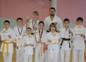 Пять медалей завоевали юные каратисты из Темрюкского района на Первенстве Юга России