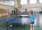 """В спортивном комплексе """"Олимп"""" в Голубицкой прошли соревнования по настольному теннису и гандболу"""