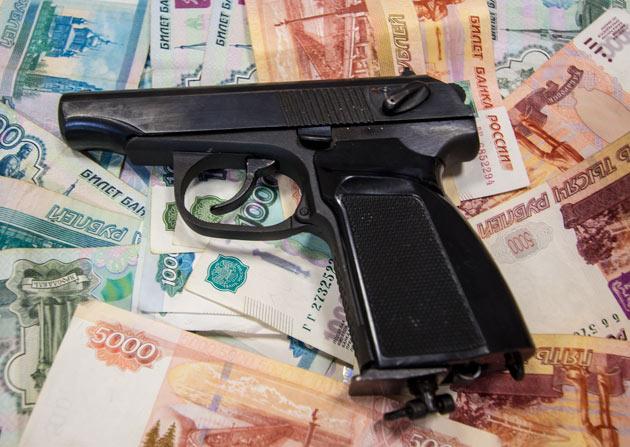 Оружие и деньги, пистолет Макарова