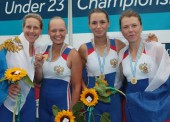 Темрючанка Александра Смирнова победила на Чемпионате мира по гребле